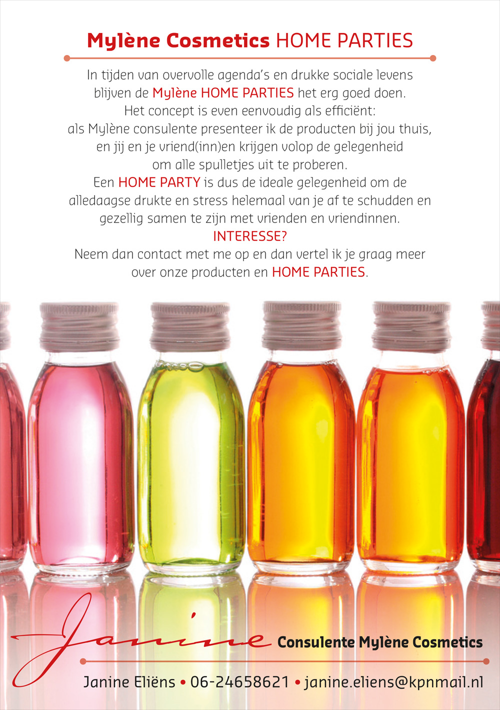 Mylène Cosmetics - Flyer