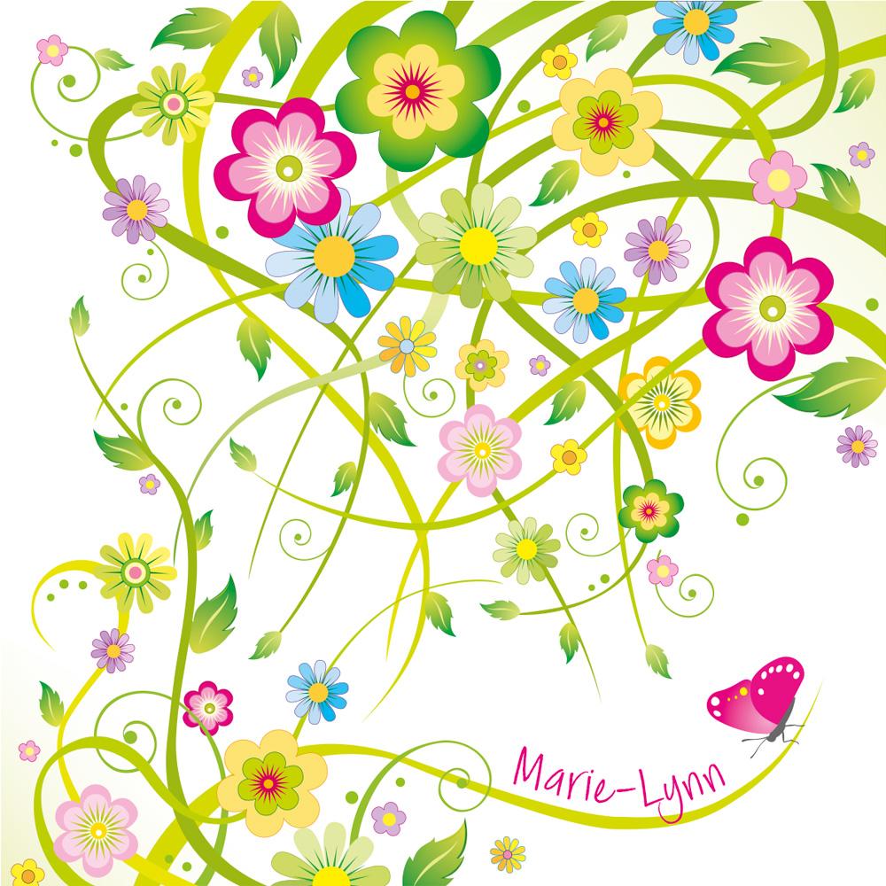 Geboortekaartje Marie-Lynn