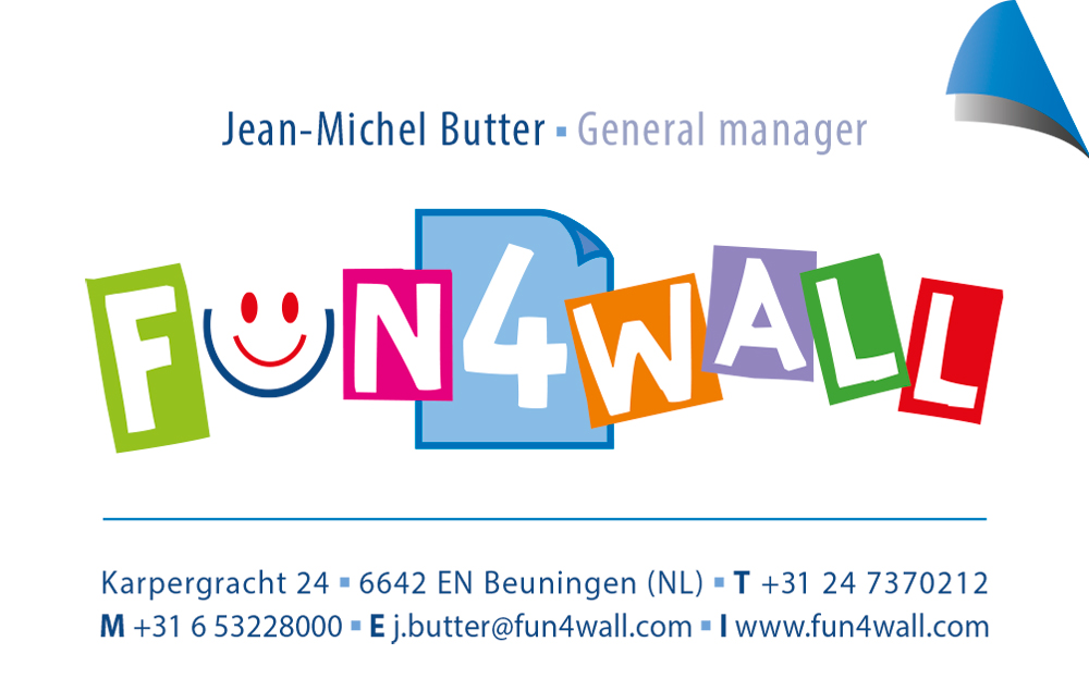Fun4wall - Visitekaartje