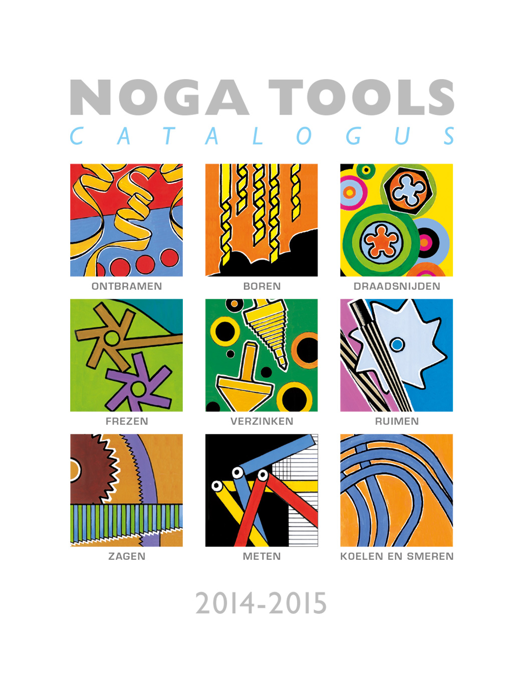 Noga Tools Catalogus 2014-2015 - Cover