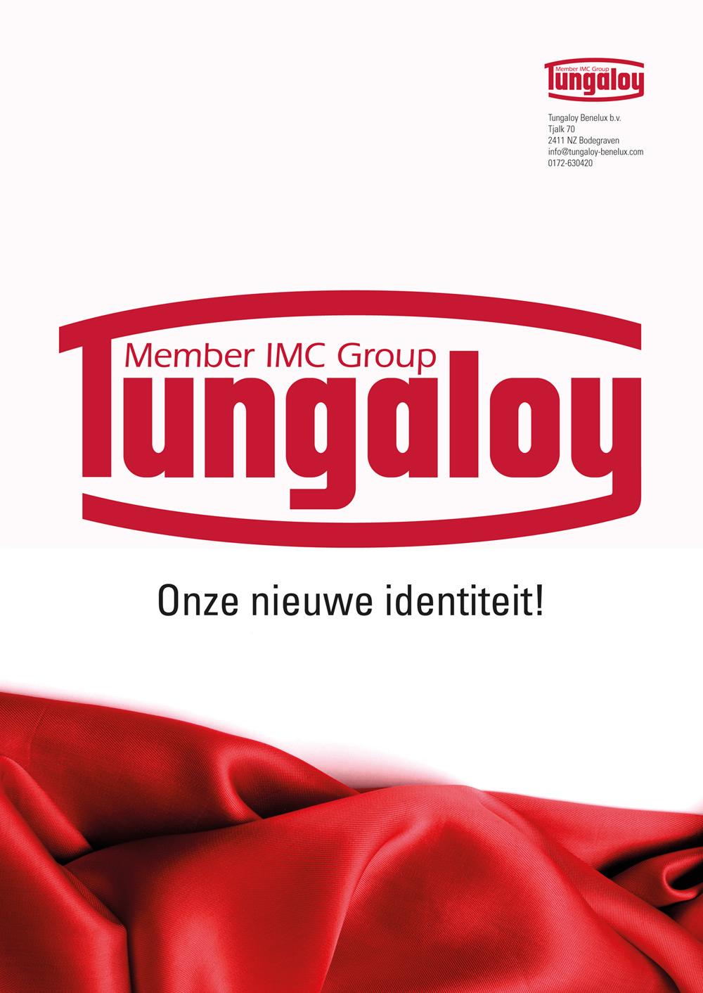 Tungaloy - achterkant Advertentie