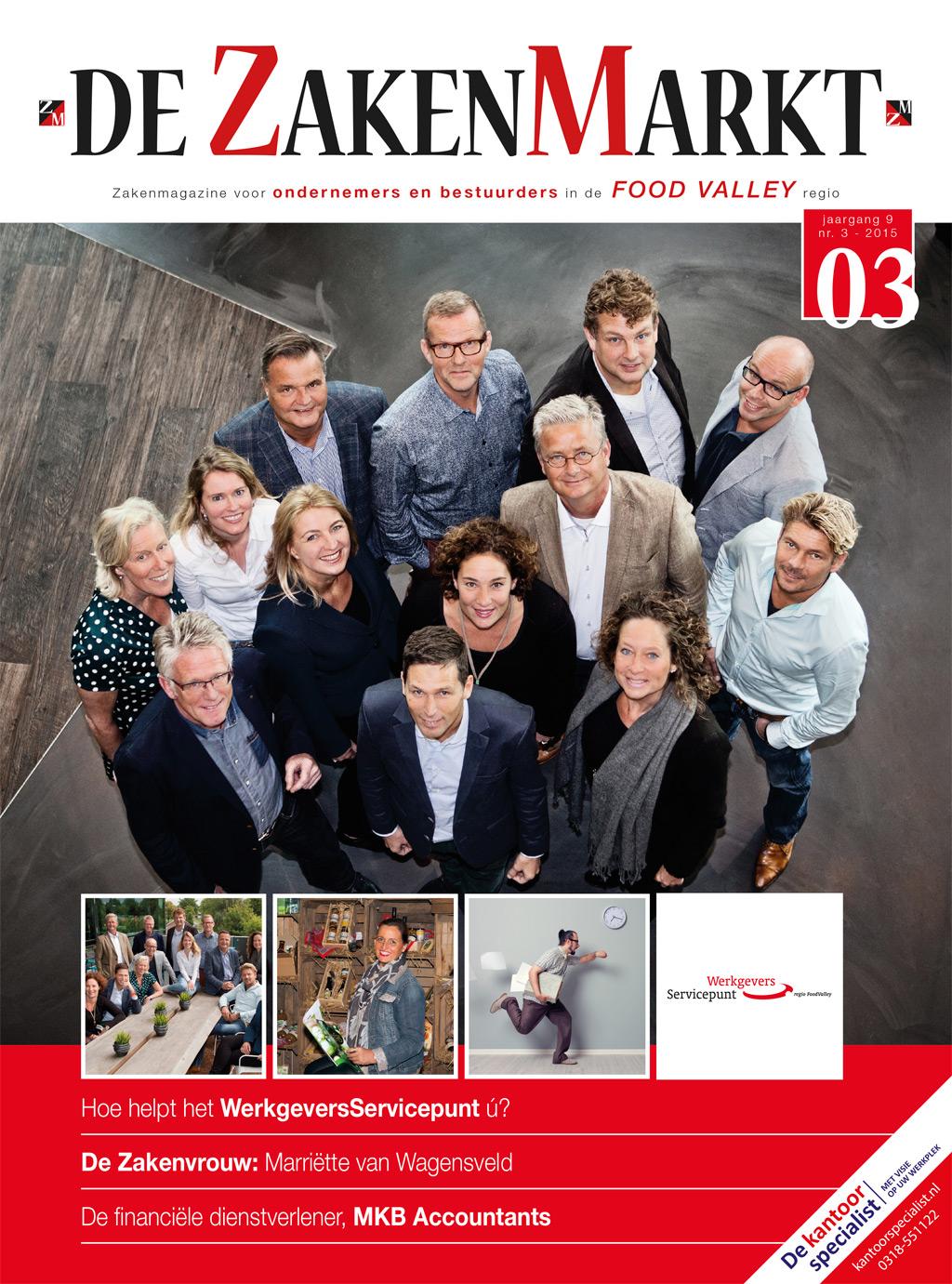 De ZakenMarkt - Cover
