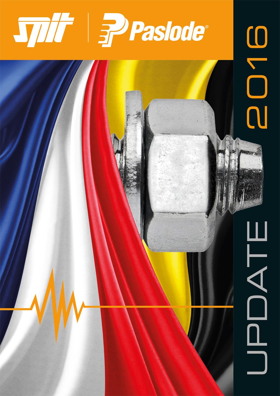 Bedrijfsfolder Spit/Paslode - Cover