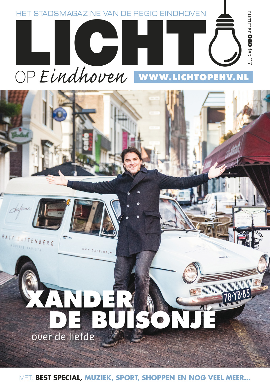 LICHT op Eindhoven - feb.'17 - Cover