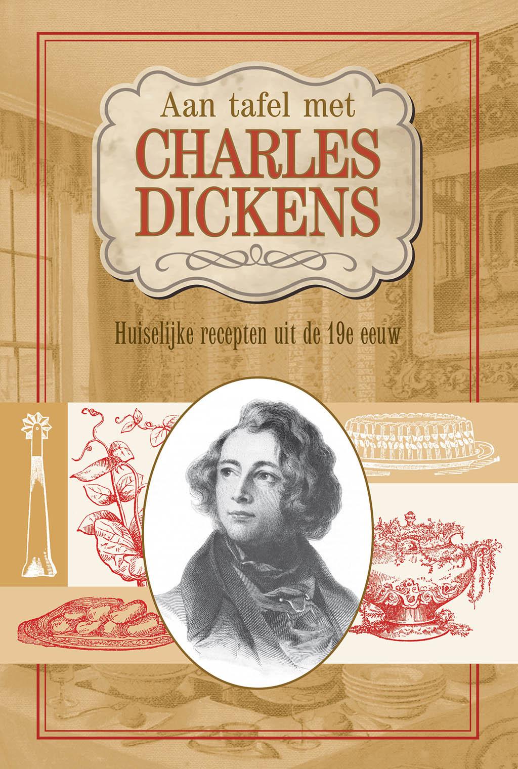 Aan tafel met Charles Dickens - Cover