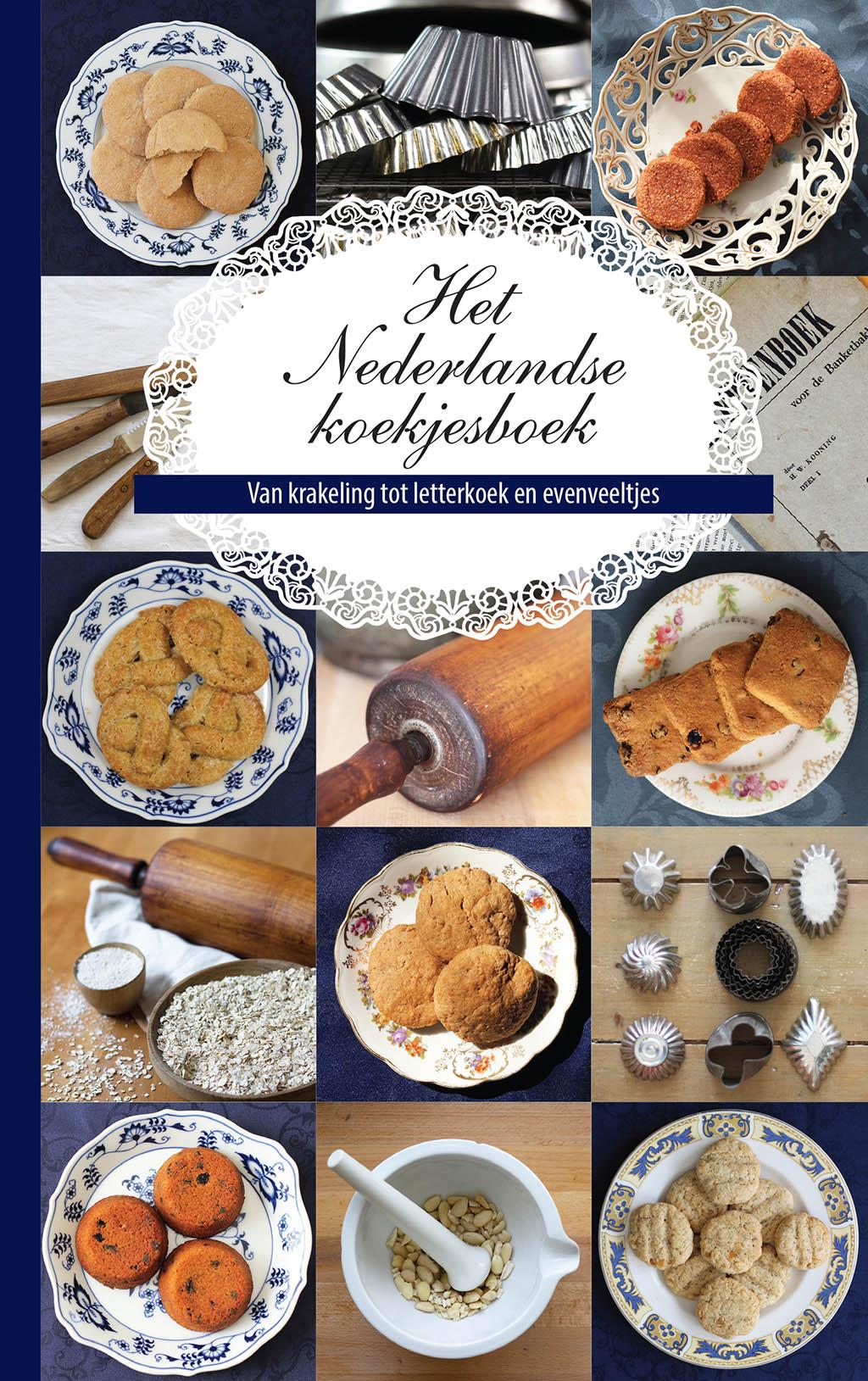 Het Nederlandse koekjesboek - Cover