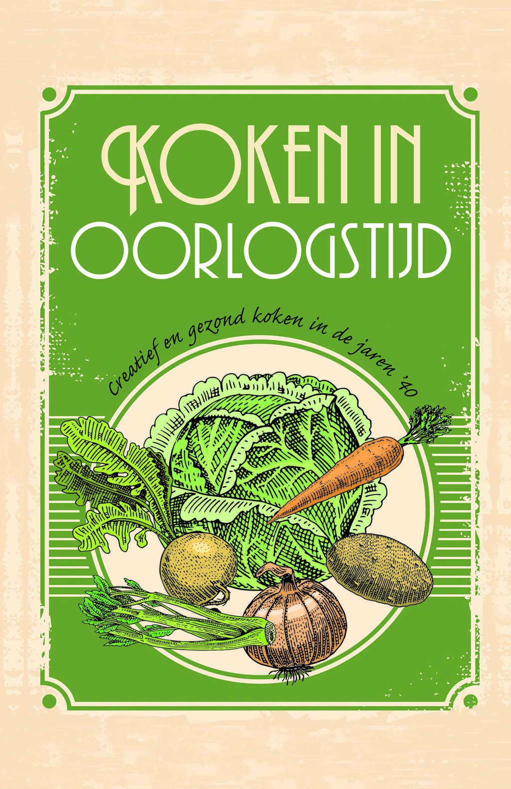Koken in oorlogstijd - Cover